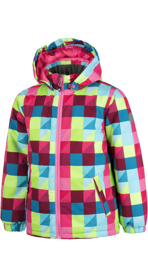 Color Kids Saigon Jacket AOP Sparkling Cosmo